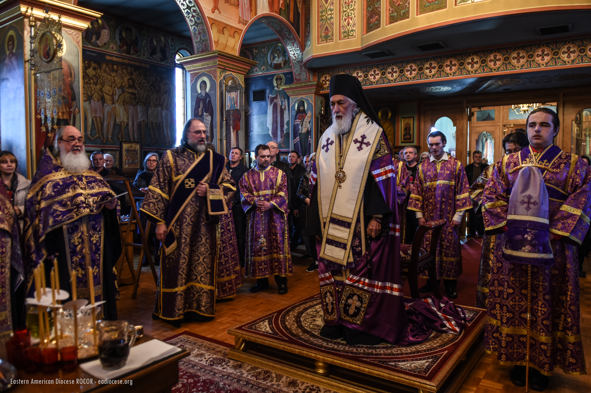 HOWELL, NJ: BISHOP NIKOLAI (SORAICH), SOFTENER OF EVIL HEARTS ICON VISIT ST. ALEXANDER NEVSKY DIOCESAN CATHEDRAL