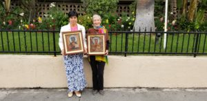 Icons donated by Lyubov Ganchenko and Galina Stoyanova