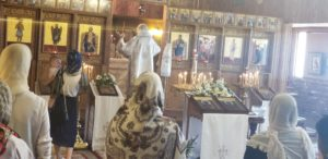 Icons of Christ and St Nicholas donated