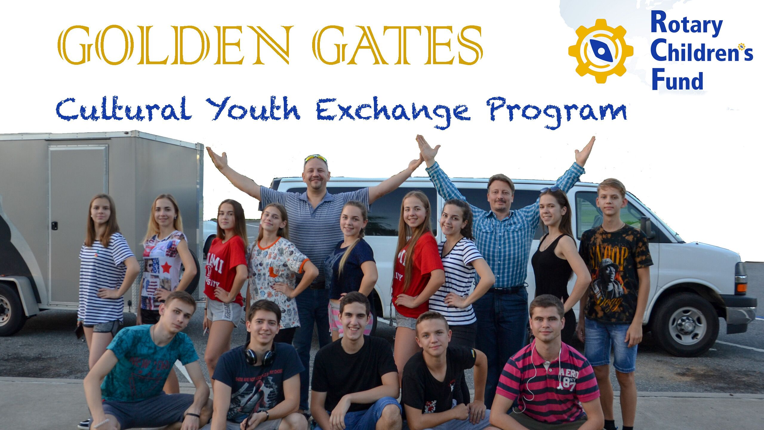 Rotary Children's Fund. Golden Gates cultural youth exchange program