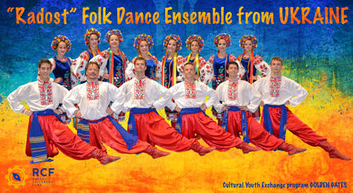 """RADOST"" folk dance ensemble from Ukraine."