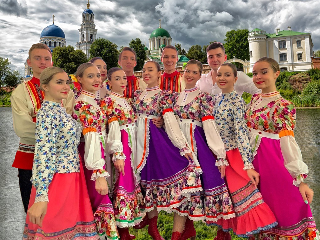 Russian dancers from Kaluga